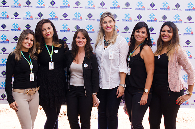 equipe empresa amiga da cura hospital do cancer uberlandia