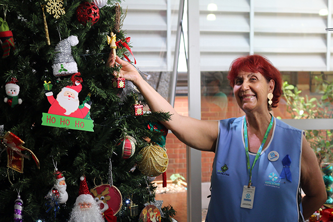 montagem arvore de natal hospital do cancer uberlandia 21